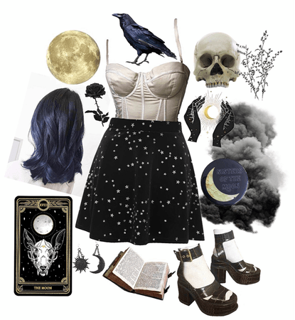 black cosmic witch