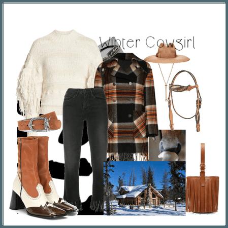 Winter Cowgirl