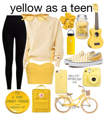 Yellow As A Teen