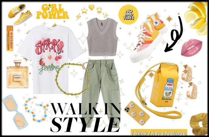 RETRO Yellow 🐤🌻 🍯 ⭐ 🍋 🌙 ✨💛