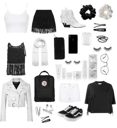 Black+White Fringe
