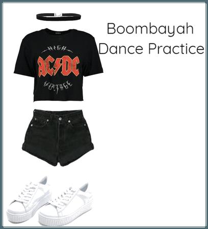 Boombayah Dance Practice