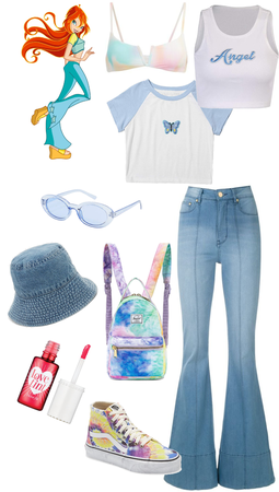 blooms inspired winx outfit