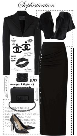 Black on Black on Black!