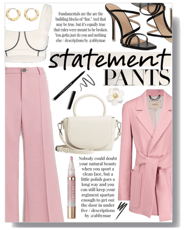 Statement trousers III.