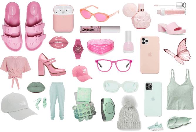 Pink Vs Mint Green💖💚