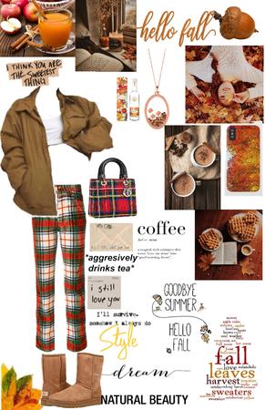 Plaid style fall