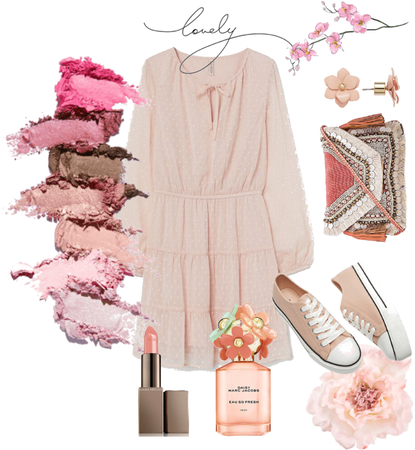 the pretty in pink look