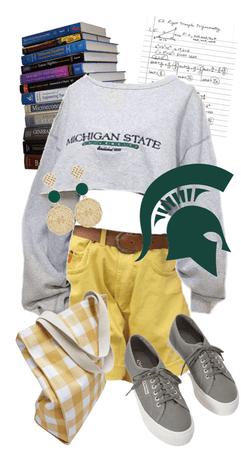 Michigan State Style!