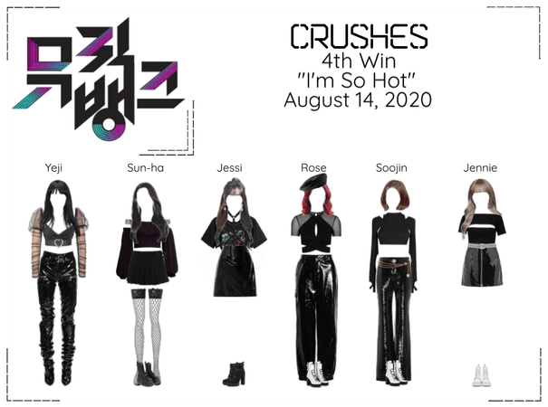 "Crushes (호감) ""I'm So Hot"" 4th Win"