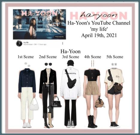 /HA-YOON/ 'my life' YouTube Channel