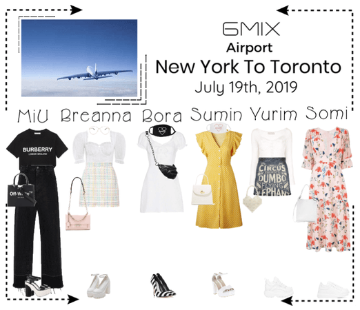 《6mix》Airport | Seoul To New York