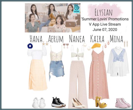 -Elysian- 'Summer Lovin' V App Live Stream