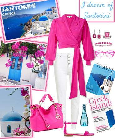 I dream of Santorini