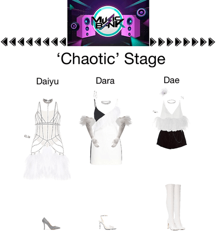 {3D}Chaotic Music Bank Stage
