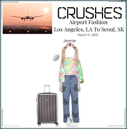 Crushes - Jennie Airport Fashion
