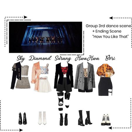 """HEARTFLY (하트플라이요) 3rd DANCE SCENE + ENDING """"HOW YOU LIKE THAT"""""""