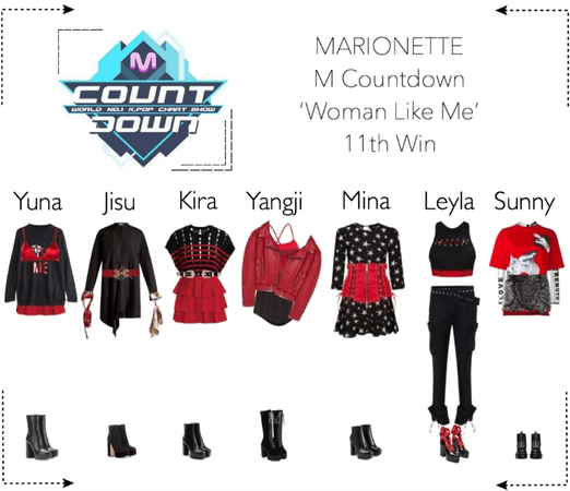 MARIONETTE (마리오네트) [M Countdown] 'Woman Like Me' | 11th Win