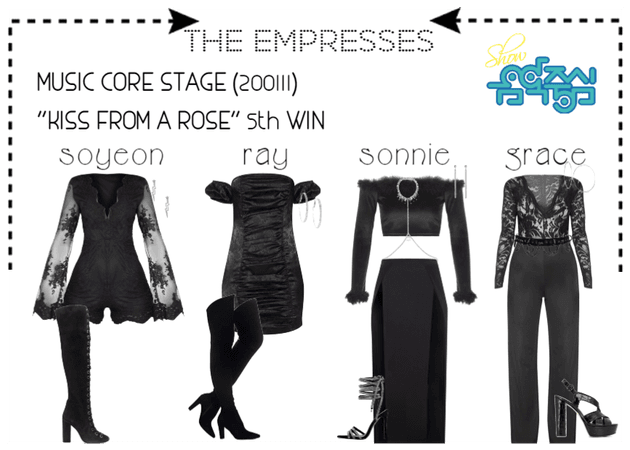 """[THE EMPRESSES] """"KISS FROM A ROSE"""" STAGE (5th WIN)"""