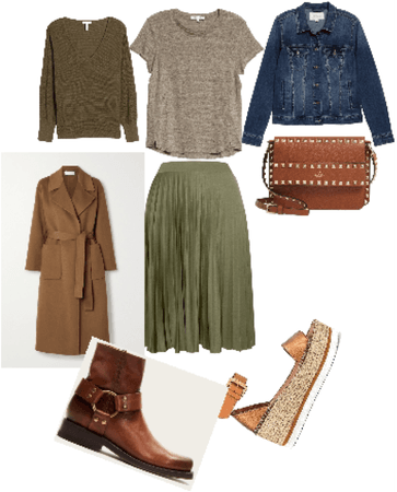 The versatile pleated skirt