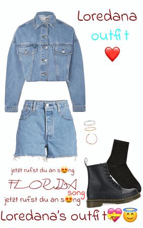 Loredana's outfit