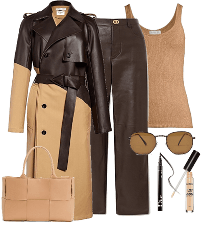 trends: brown and tan