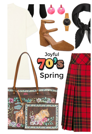 Joyful 70's Spring