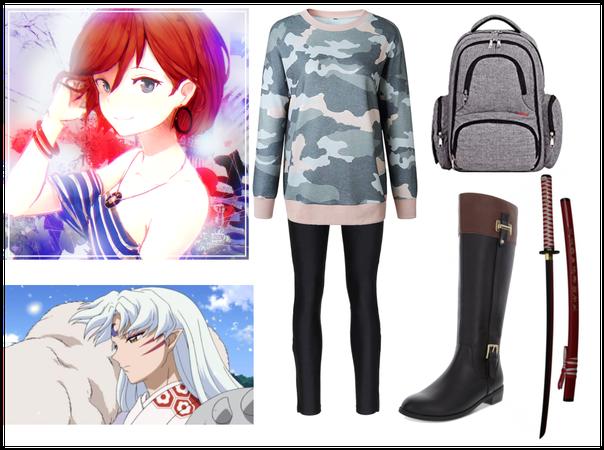 Inuyasha OC (Original) Outfit 2