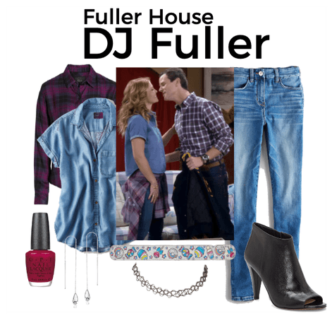 DJ Fuller Outfits - 80's Date Night with Steve