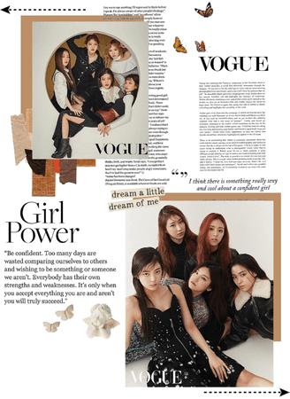 XOC on Vogue | fake girl group