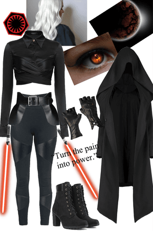 The female Sith Lord