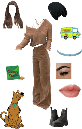 Modern Day Scooby| Scooby Doo (FEMALE EDITION)