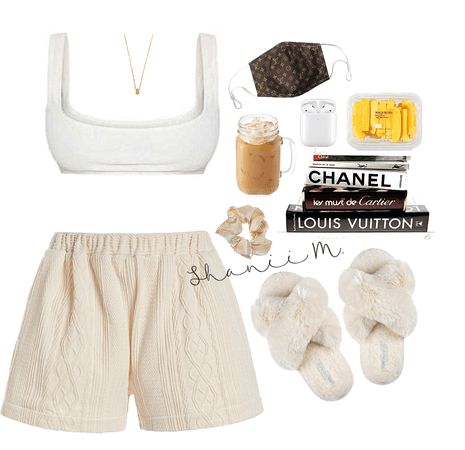 comfy outfit stay at home