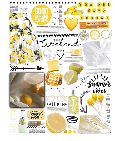 ☀️ lemon 🍋 yellow 💛