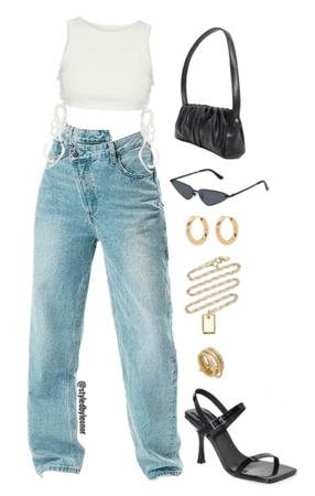 Glam Street Wear Look