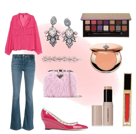 Casual Pink Weekend