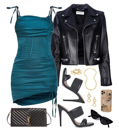 leather jacket cutie 💙