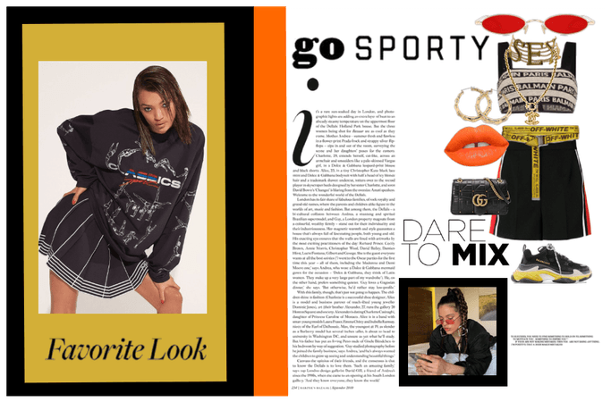 // THE SPORTY LOOK //