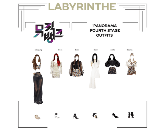 LABYRINTHE PANORAMA fourth stage outfits