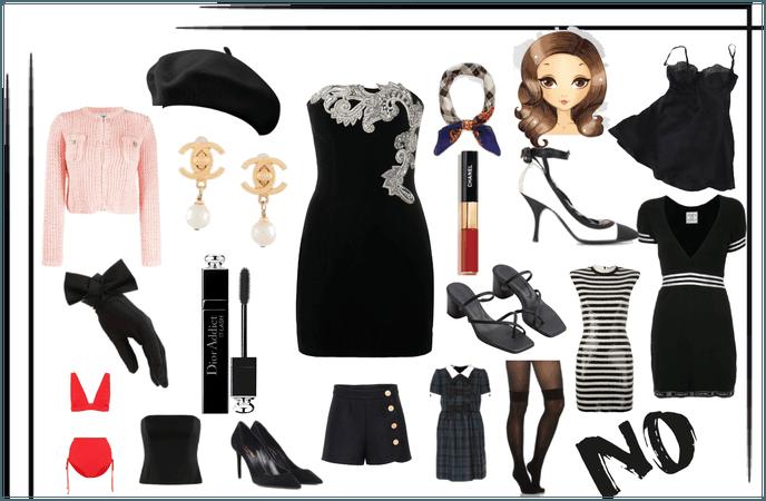 The Blair Waldorf Collection xoxo