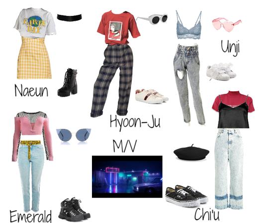 BLACK DRESS M/V || Fake K-Pop Girl Group ALORA