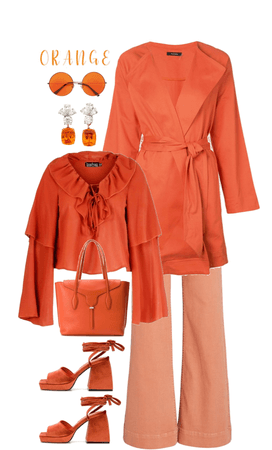 Orange Monochrome
