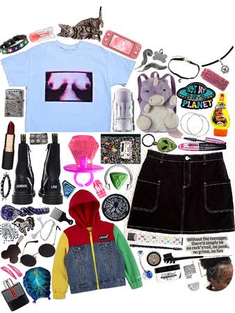 weird girl subcategory: the basketcase