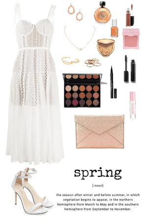 Spring Midi Dress Look