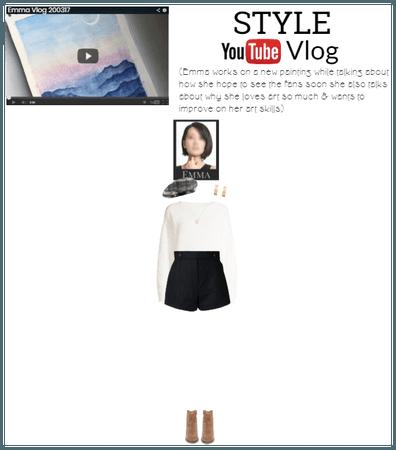 [STYLE] Emma Youtube Vlog