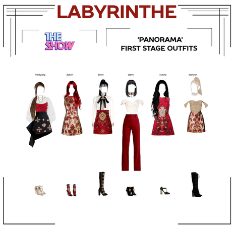 LABYRINTHE PANORAMA first stage outfits