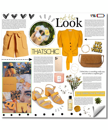 Yellow Aesthetic - My Style Challenge