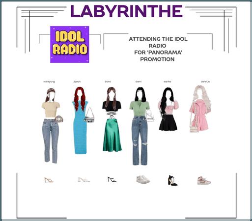LABYRINTHE attending the IDOL RADIO