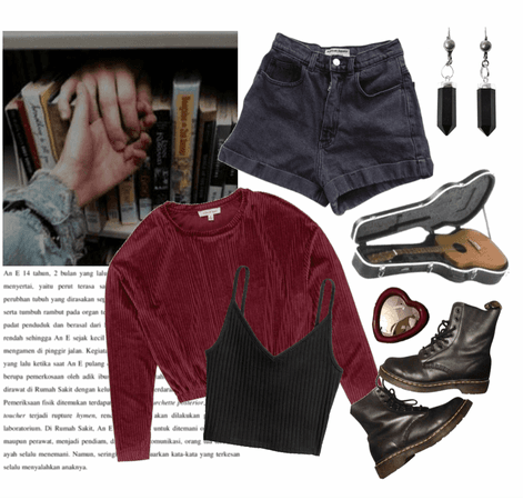 Corduroy And Kissing In The Library