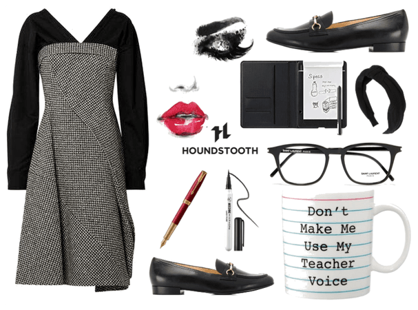 Houndstooth Teacher